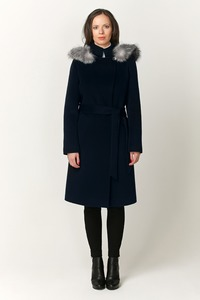 Женское зимнее пальто с капюшоном арт.603